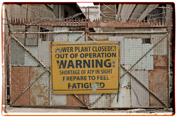 Power Plant Closed